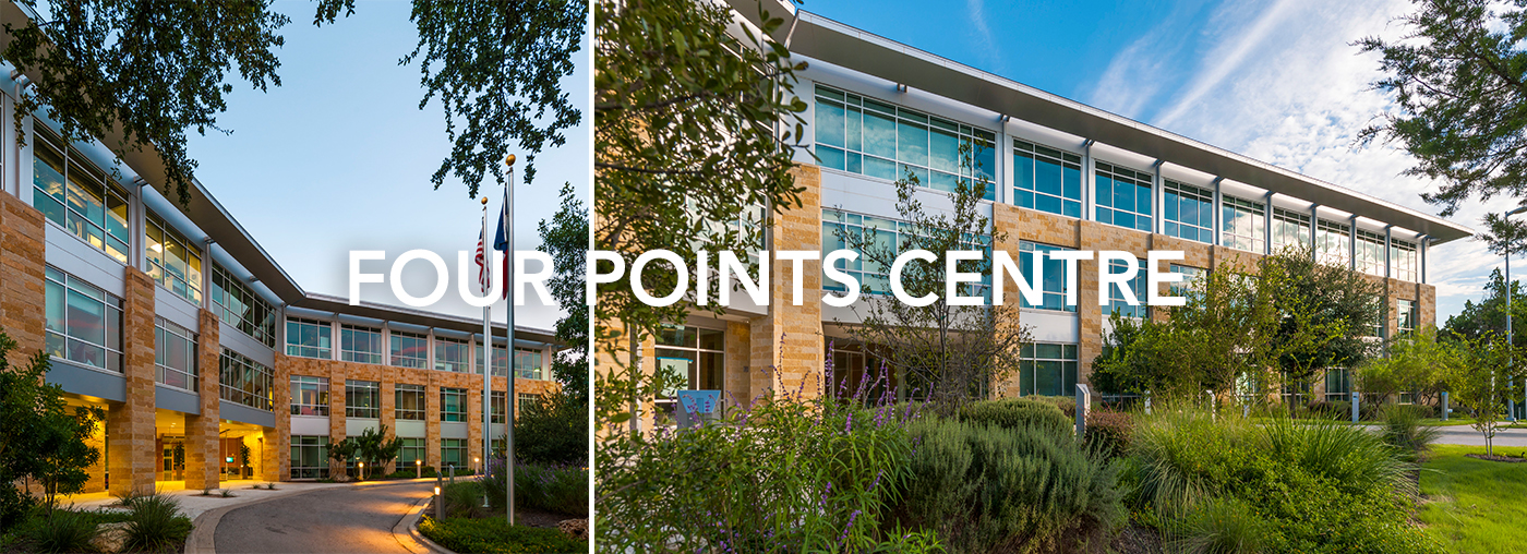 Virtual Tour Landing page headers Four Points Centre